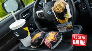 Video As Seen Online - Funny Fast Food Car Products TESTED! MP3, 3GP, MP4, WEBM, AVI, FLV Oktober 2018