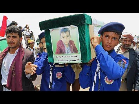 Υεμένη: Κηδεύτηκαν δεκάδες παιδιά, θύματα της επιδρομής…