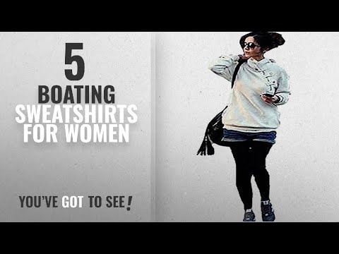 Top 10 Boating Sweatshirts For Women [2018]: Juicy Trendz Women's Ladies Hoodie Sweatshirt Top