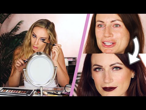 Funny face - Full-Face Of Makeup Using ONLY Products Found At BuzzFeed