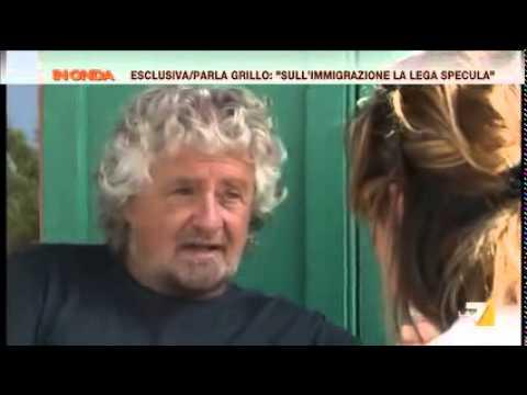 """intervista esclusiva a beppe grillo - """"in onda"""" del 11.08.2015"""
