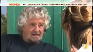 Beppe Grillo Intervista esclusiva a In Onda