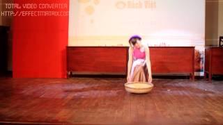 Châu Dương - múa Quê Tôi- vòng Bán Kết