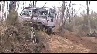 HERERO 4X4 DEFENDER TD4 CIOCCO 2012 assetto mud rock extreme trasmissioni rinforzate by Herero 4x4