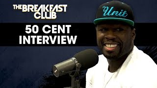 Video 50 Cent On His New Comedy Show, Offers Advice To Kevin Hart + Usher MP3, 3GP, MP4, WEBM, AVI, FLV Januari 2018