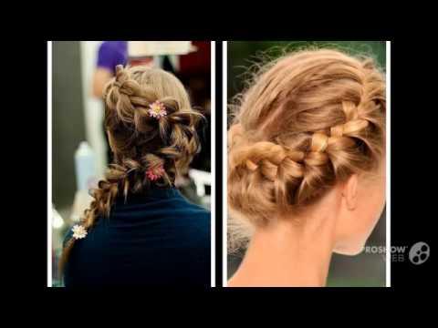 видео плетение кос смотреть