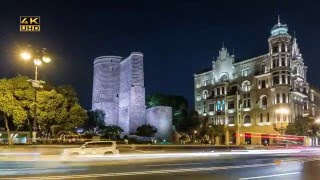Baku Azerbaijan  city photos : Baku, the capital of Azerbaijan! (Time Lapse)