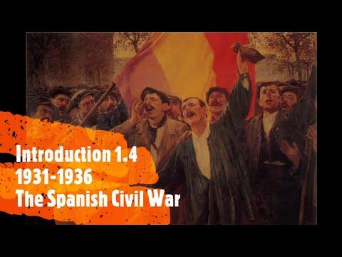 The Spanish Civil War ~ Introduction IV ~ 1931-1936 ~ Episode 1.4