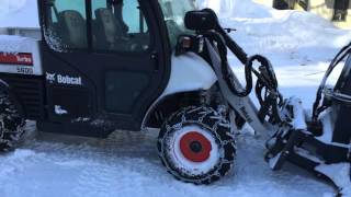 4. Bobcat Toolcat 5600 High Flow w/ SB240 Snowblower