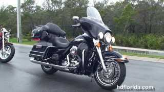 6. Used 2012 Harley Davidson Ultra Classic Electra Glide Motorcycles for sale - Destin, FL