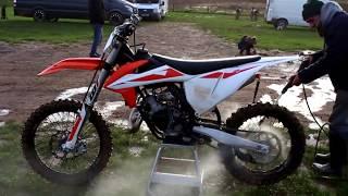 7. KTM 125 2019   first motocross ride back