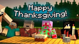 Minecraft: Happy Thanksgiving! w/ Kuledud3&SexyHotTub
