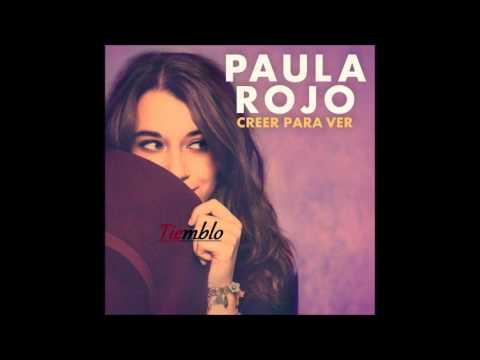 Letra Tiemblo Paula Rojo