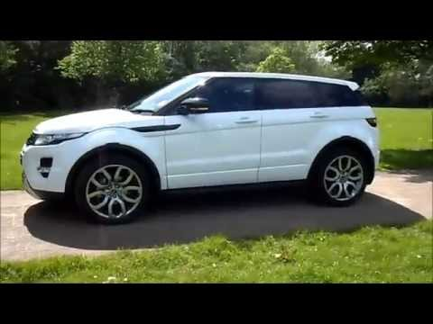 2012/62 Plate Land Rover Range Rover Evoque 2.2 SD4 5dr Automatic - SOLD