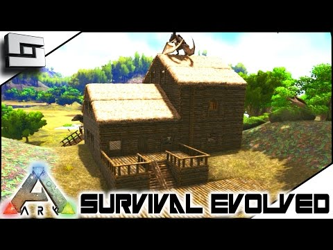 ARK: Survival Evolved - NEW BASE PLACE! E3 ( Procedurally Generated Gameplay ) (видео)
