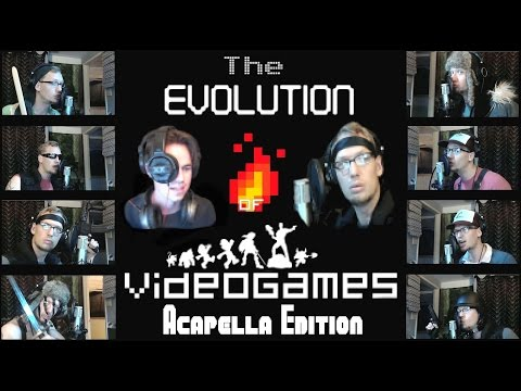 Evolution Of Video Games Music Acapella