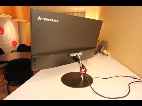 ThinkVision X24 Monitor Hands-on