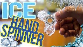 Video HAND/FIDGET SPINNER MADE OF ICE! *DIY* MP3, 3GP, MP4, WEBM, AVI, FLV November 2017