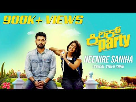 Video Neenire Saniha - Lyric Video | Kirik Party | Rakshit Shetty | Shreya Ghoshal | B Ajaneesh Loknath download in MP3, 3GP, MP4, WEBM, AVI, FLV January 2017