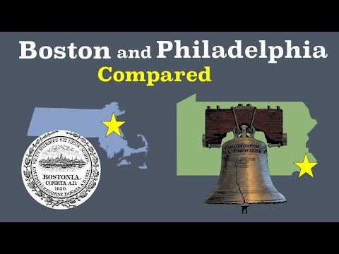 Boston and Philadelphia Compared (видео)