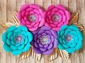 Download Lagu Giant Paper Flower | How To Make  Diy Rose Tutorial (Large Size Paper Rose) Mp3 Free