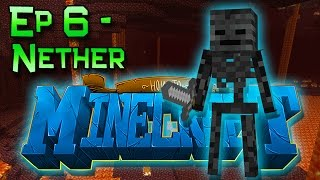 How To Minecraft! Episode 6 - Exploring the Nether! Blazes and Wither Skeletons! (1.8 SMP)