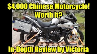 4. Zongshen RX3 by CSC Motorcycles, In Depth Review by Victoria