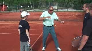 Tennis Highlights, Video - Nick Bollettieri (Serve)
