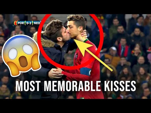 Most Unexpected 😱memorable Kisses  We See In Football