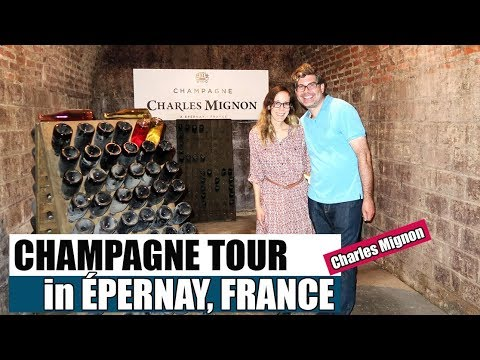 Champagne Tasting in Epernay France - Charles Mignon