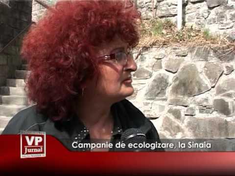 Campanie de ecologizare, la Sinaia