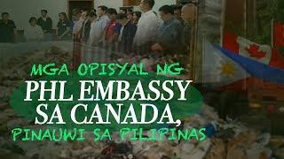 Video 24 Oras: Mga opisyal ng PHL Embassy sa Canada, pinauwi sa Pilipinas matapos 'di masunod ng Canada... MP3, 3GP, MP4, WEBM, AVI, FLV Mei 2019