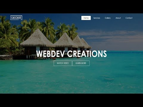 How To Create A Website Using HTML And CSS Step By Step Website Tutorial