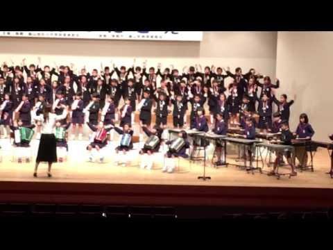 第33回 鳥栖基山地区小中音楽祭 麓小学校「情熱大陸」