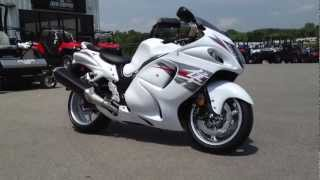 6. 2012 Suzuki Hayabusa in White and Red at Tommy's MotorSports