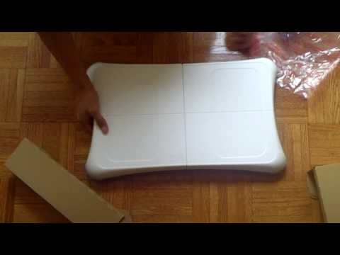Wii Fit Plus W/ Balance Board Unboxing