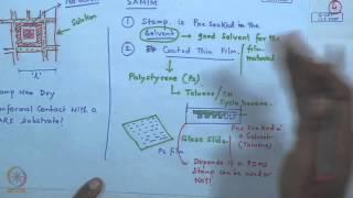 Mod-01 Lec-19 Soft Lithography - IV