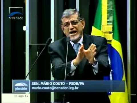 Senador Mário Couto fala sobre atuação de madeireiras em Prainha - PA