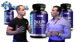http://www.bestpricenutrition.com/kaizen-zma-pm-120-caps-1.html - Joe and Ben review why ZMA is important for sleep and bodybuilding.