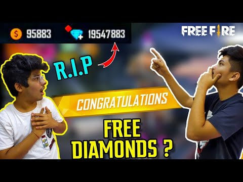 Free Fire || We Got 20,000 Diamonds From Garena Free Fire || R.I.P Our Diamonds || Live Reaction