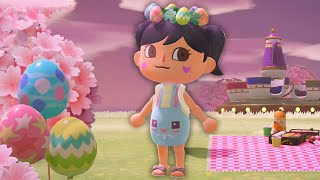 Decorating My Island For Bunny Day in Animal Crossing by iHasCupquake