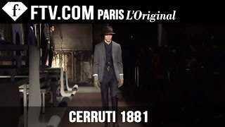 Cerruti 1881 Men Fall/Winter 2015-16 | Paris Men's Fashion Week | FashionTV