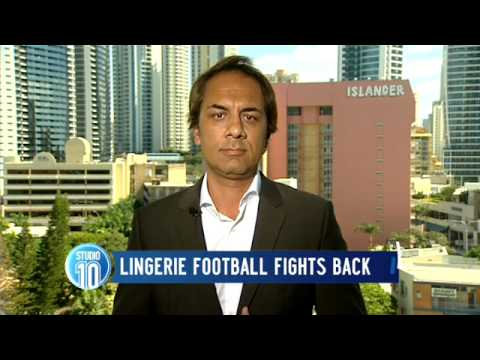 Lingerie Football Fights Back | Studio 10