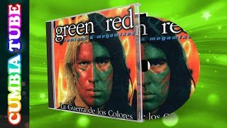 Grupo Green y Grupo Red  La Guerra de los Colores Remix y Megamix  CumbiaTube