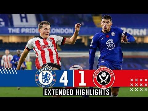 Chelsea 4-1 Sheffield United | Extended Premier League highlights | Silva, Ziyech & Werner.