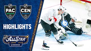 Hertl's four goals power Pacific All-Stars past Central by NHL