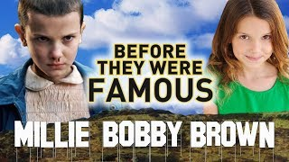 Video MILLIE BOBBY BROWN - Before They Were Famous - Stranger Things Eleven MP3, 3GP, MP4, WEBM, AVI, FLV Januari 2018