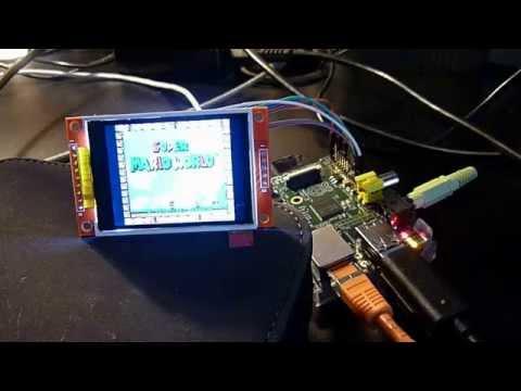 SNES emulator on Raspberry (Retropie) with a TFT screen