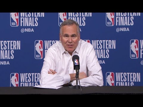 Mike D'Antoni Postgame Interview - Game 1 | Rockets Vs Warriors | May 14, 2018 | 2018 NBA Playoffs