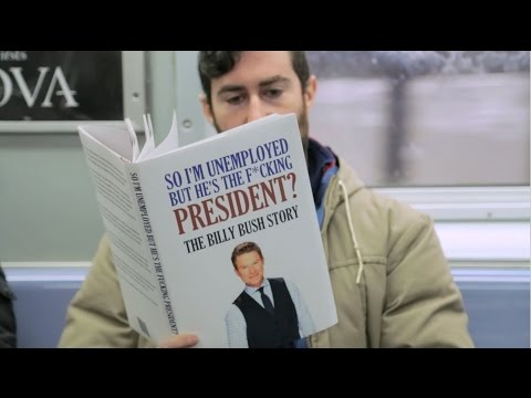Fake Books on the Subway Prank Trump Edition
